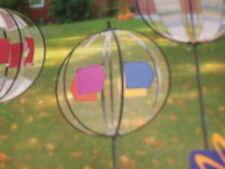 """Magic Cristal De Varios Colores Colgante de flecha hilandero del viento, 10 """"de diámetro BNIP"""
