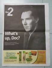 Marvel's Doctor Strange TheStar Newspaper Malaysia RARE Benedict Cumberbatch Dr
