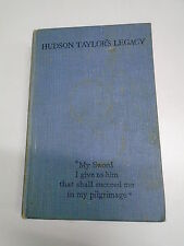 HUDSON TAYLOR'S LEGACY by MARSHALL BROOMHALL H/B 1931 Pub. CHINA INLAND MISSION