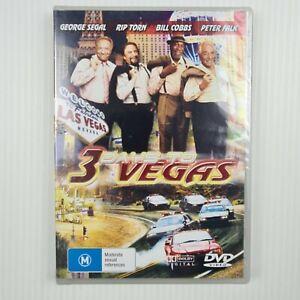 3 DAYS TO VEGAS - George Segal/Bill Cobs/Peter Falk - Brand New DVD -All regions