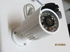 TELECAMERA 3,6 MM VIDEOSORVEGLIANZA ESTERNO LENTE SONY 1/3 CCD 24 LED INFRAROSSI