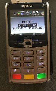 TPE INGENICO iWL250 sans contact GPRS 3G Terminal paiement bancaire Lecteur