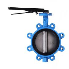 3 CPS Lug Style Ductile Iron Butterfly Valve, 316SS Disc, EPDM Liner