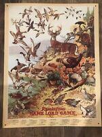 REMINGTON GAME LOAD Classic Guns Tin Metal Sign Wall Decor Garage Classic