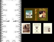 1:24 SCALE MINIATURE BOOK PETER PAN IN KENSINGTON GARDENS RACKHAM
