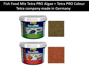 Fish Food Mix Tetra PRO Algae + Tetra PRO Colour - Professional quality food