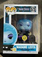 Madame Leota Glow GITD Disney Parks Funko Pop Vinyl New Mint Box +P/P