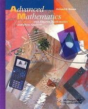 Advanced Mathematics: Precalculus with Discrete Mathematics and Data Analysis...