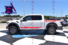 4X Sport Sticker Decal Side Door Stripes for Ford Raptor F-150 2 Color