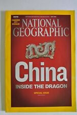 National Geographic Magazine. May, 2008. China Inside The Dragon Special Issue.