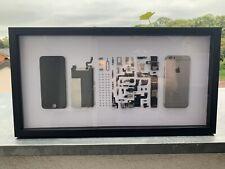 Zerlegtes iPhone 6 in Rahmen, Wallart