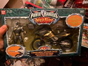 Power Rangers Wild Force Lunar Wolf Savage Cycle