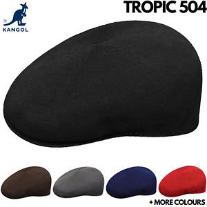 KANGOL Tropic 504 Ivy Cap Mens Light Flat Driving Summer Hat Classic Original