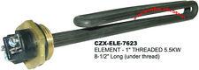 "Spa hot tub Heater ELEMENT 240V/5.5kW for Comfortzone  1"" NPT Threaded"