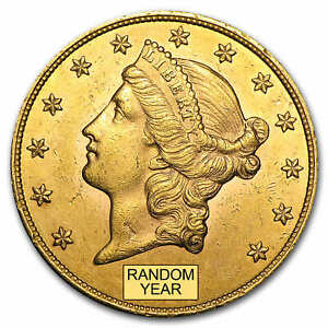 SPECIAL PRICE! $20 Liberty Gold Double Eagle AU Random Year