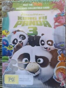 Kung Fu Panda 3 DVD Region 4 Animation Kids Family NEW SEALED