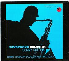 Saxophone Colossus - Sonny Rollins CD Tommy Flanagan/Doug Watkins/Max Roach 1956