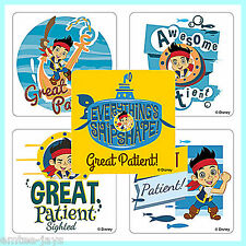 Jake and the Neverland Pirates Stickers x 5 - Medical Patient  - Nurse/Doctors