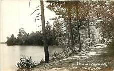 Wisconsin, WI, Trout Lake, A Scene Near the Resort Early Real Photo Postcard