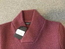 Bruuns Bazaar ginger red thick wool pullover, M