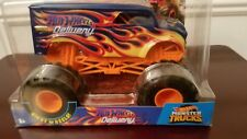 Hot Wheels 1/24 Scale Monster Truck Delivery Wagon Big Truck!