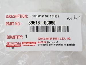 Genuine OEM Toyota 89516-0C050 Rear ABS Wheel Speed Sensor Wire Part