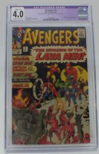 The Avengers # 5 1964  CGC 4.0