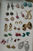 Vintage  mixed  earrings lot