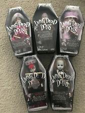 New listing Lot of 5 Mezco Living Dead Dolls Series 23 Tea Party