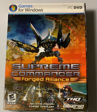 Supreme Commander FORGED ALLIANCE FOR PC New Sealed