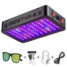 BESTVA 1000W LED Grow light Full Spectrum For Indoor Plants Veg Bloom Kits Black