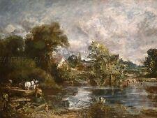 John Constable British WHITE HORSE Vecchia Pittura Arte Poster Stampa bb5874a
