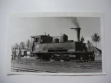 INDO30 - INDONESIAN STATE RAILWAY - STEAM LOCOMOTIVE C11.18 PHOTO Indonesia