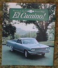 1964 Chevrolet El Camino Sales Brochure Foldout 1964