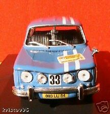 COUPE RENAULT 8 GORDINI 1300 PAU 1968 ELIGOR 1/43 SPORT