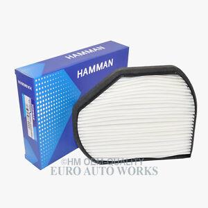 Mercedes-Benz A/C Cabin Air Filter Paper OEM-Quality HM 210 0818
