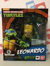TMNT Teenage Mutant Ninja Turtles Bandai SH Figuarts Leonardo Figure