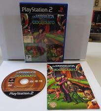Console Game SONY Playstation 2 PS2 ITALIANO Play PAL LA FABBRICA DI CIOCCOLATO