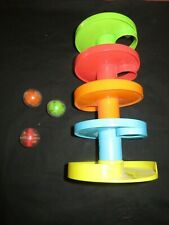 Euc 5 Layer Ball Drop and Roll Swirling Tower for Baby & Toddler