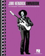 Jimi Hendrix Omnibook For C Instruments Guitar Collection Book NEW 000119115