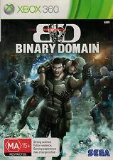 Binary Domain, Microsoft Xbox 360 game complete, Used,