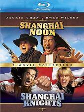 SHANGHAI NOON / SHANGHAI KNIGHTS  BLU RAY  REGION FREE  OWEN WILSON JACKIE CHAN