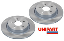For Volvo - V50 (545) 2004-2012 Rear 280mm Brake Discs Unipart