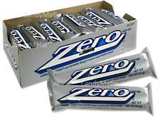 Zero Bar 24 count Zero Candy Bars white fudge caramel and nougat EXPIRE 6/2021