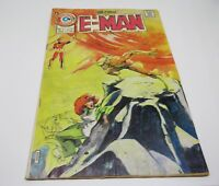 "E-Man Charlton Comics May 1975 Vol.3 No.8 ""The Inner Sun"""
