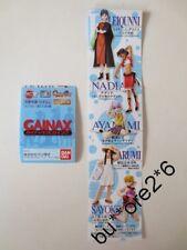 Bandai Gainax Gashapon Figure Set of 5 Rei Evangelion Sayoko LEIQUNNI NADIA