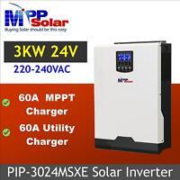 (MSXE) Solar inverter 3kva 24v 3000w pure sine inverter 60A MPPT solar charger