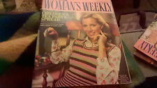 December Woman's Weekly Magazines for Women