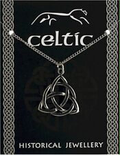 Celtic Triquetra Knot Pendant On A Chain