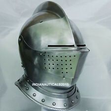 Medieval Knight Tournament Close Armor Helmet Replica Halloween Role Play Gifts
